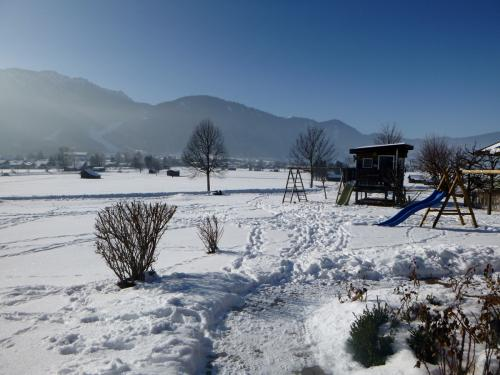 Winteridylle am Hof