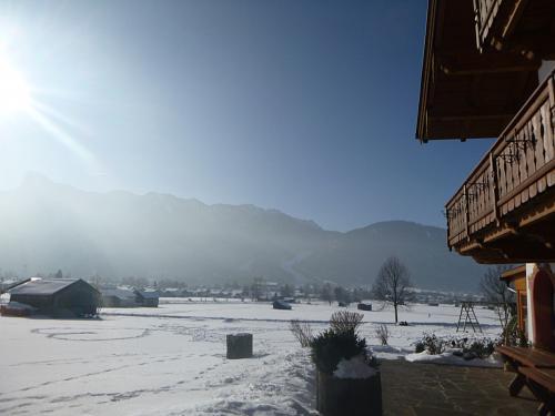 Winteridylle am Hof