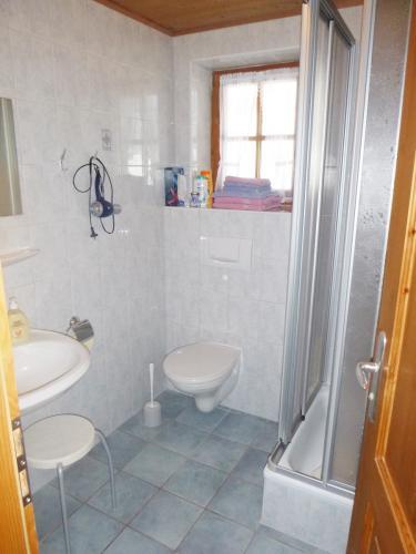 Zimmer 2: Bad mit Dusche und WC